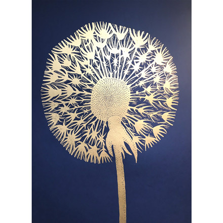 Monika Petersen Dandelion Gold/Indigo
