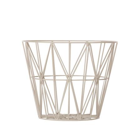 Ferm Living Wire Basket Grå