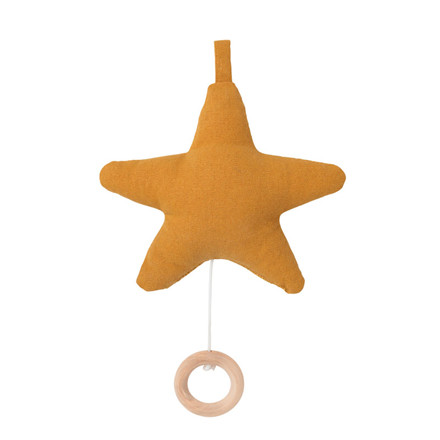 Ferm Living Star Music Mobile Mustard