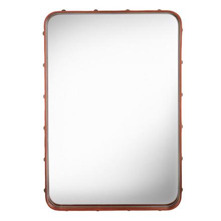 Gubi Adnet Rectangulaire Spejl Tan