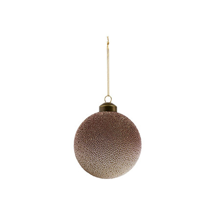 House Doctor Pearl Ornament Grey/Rose Ø 10 cm