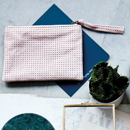 House Doctor Punch Clutch Nude