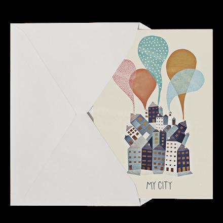 Michelle Carlslund My City Postkort