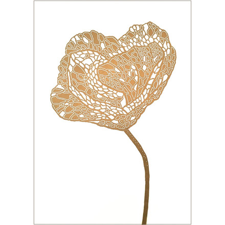 Monika Petersen Poppy 2 Gold/White