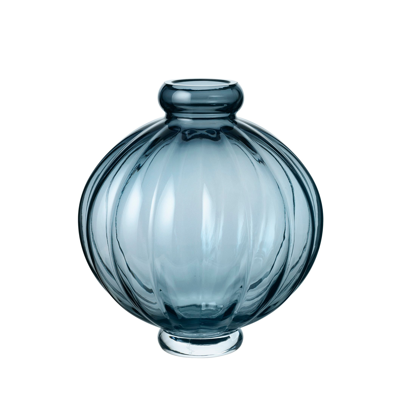 Louise Roe Balloon Vase 01 Blue