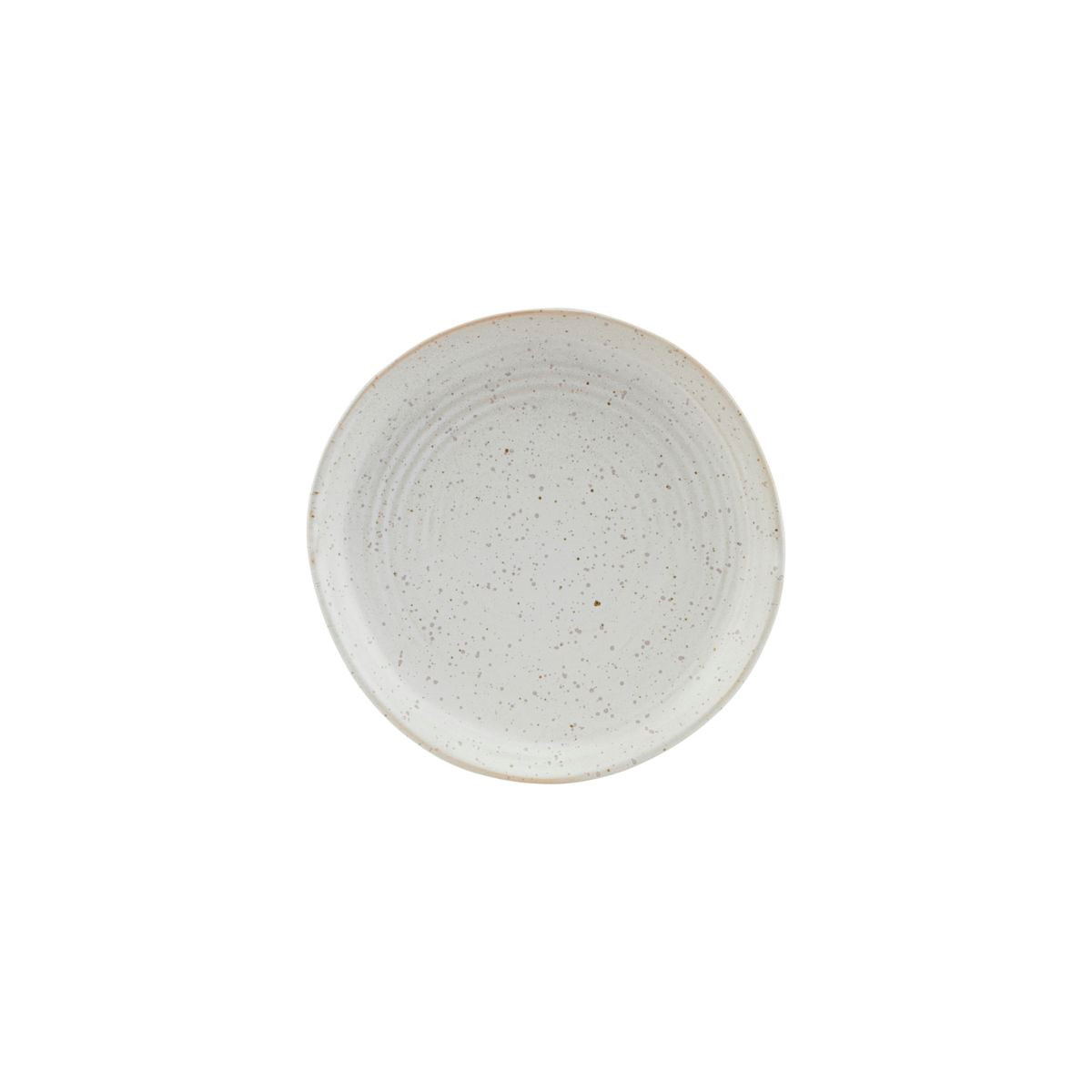House Doctor Pion Cake Plate Grey/White