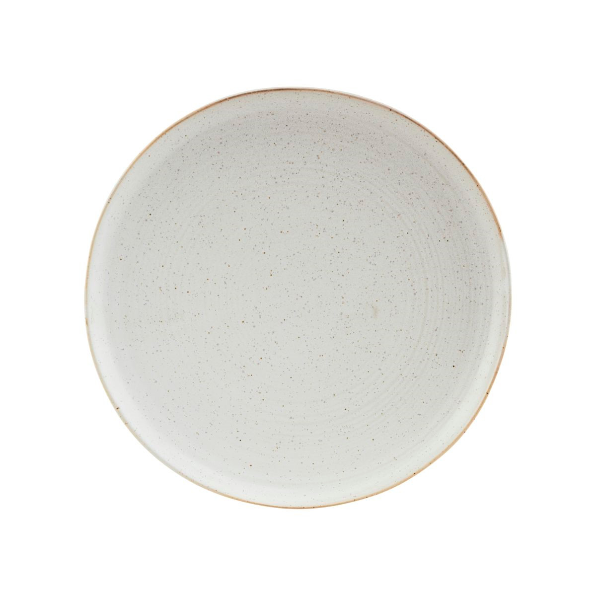 House Doctor Pion Lunch Plate Grey/White