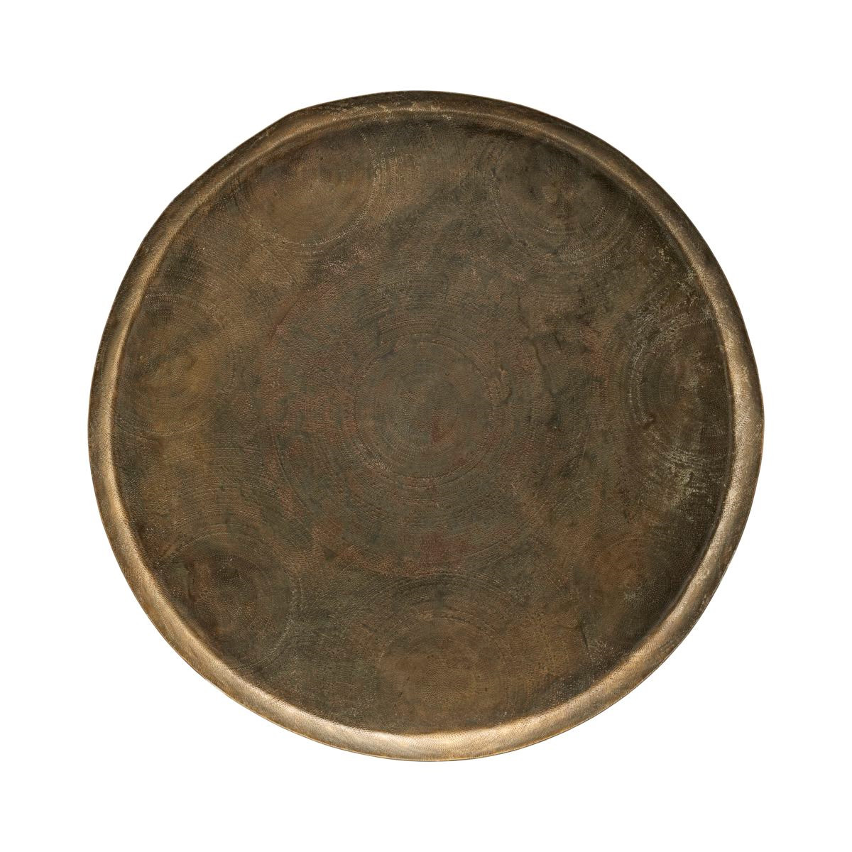 House Doctor Tray Jhansi Antique Brass