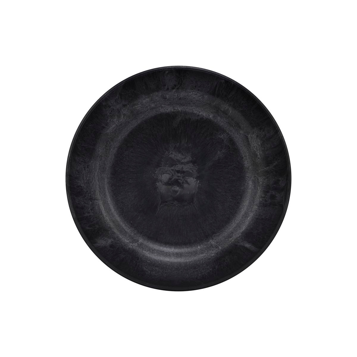 House Doctor Plate Serveur Black Small