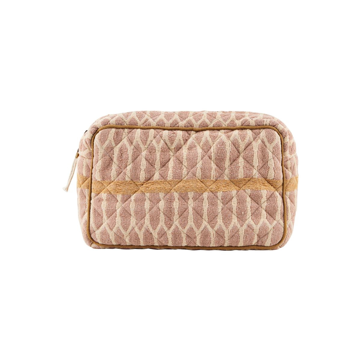 Meraki Makeup Bag Mustard/Terracotta/Sand