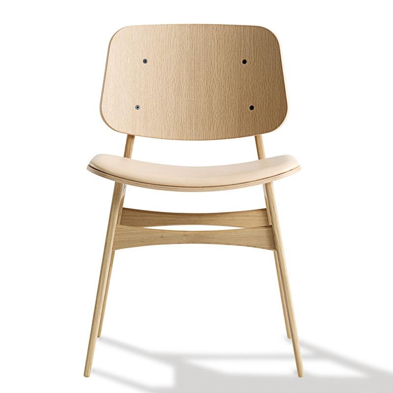 Fredericia Furniture 3051 Søborg Stol Sædepolstring