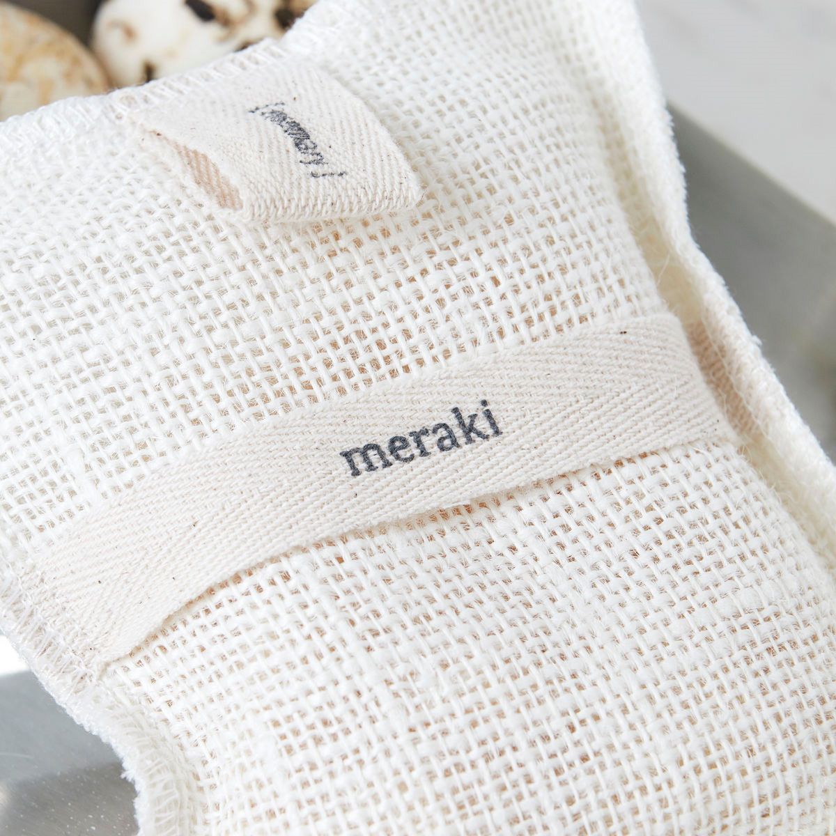Meraki Bath Mitt Rosemary