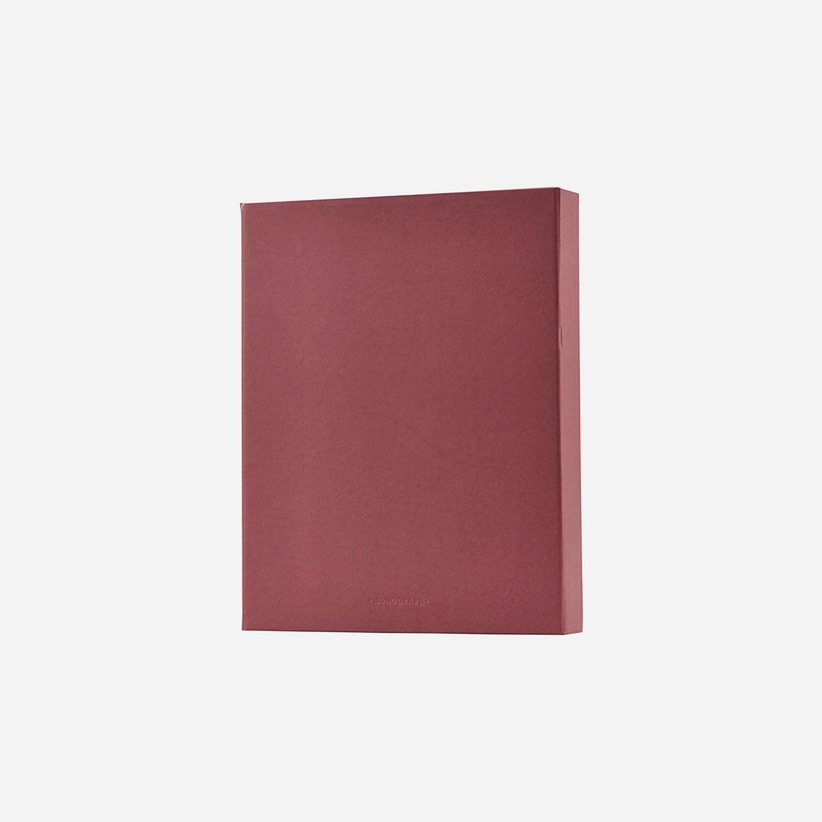 Monograph File Ringbind Bourgogne