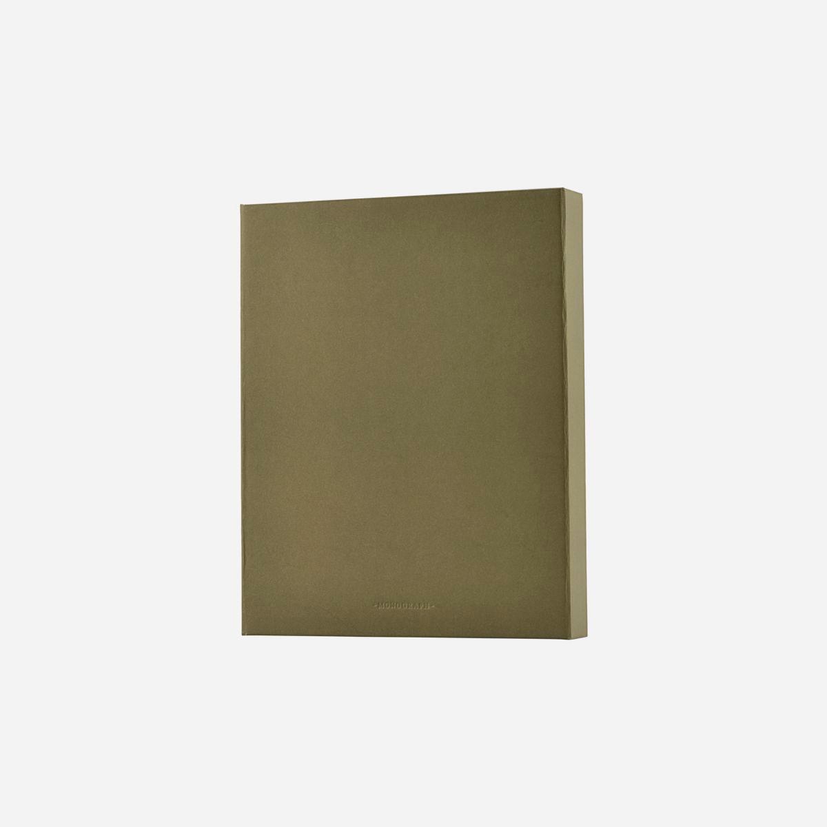 Monograph File Ringbind Armygrøn