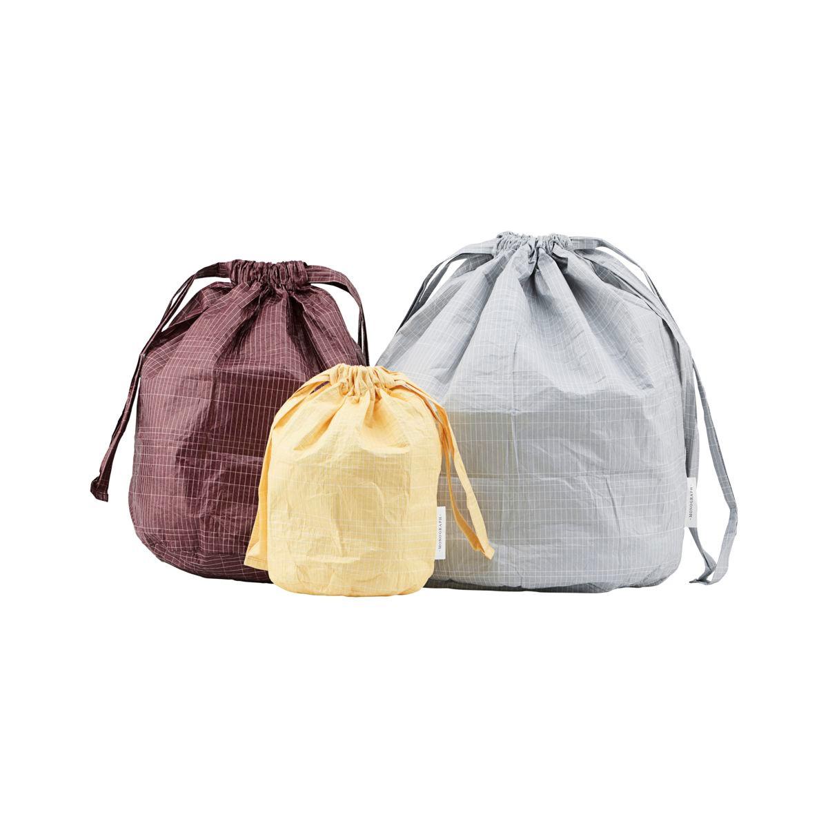 Monograph Travel Bag/Storage Yellow, Green, Bordeaux