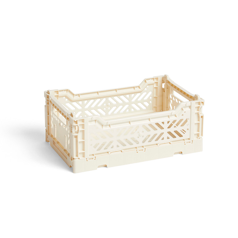 HAY Colour Crate S Offwhite