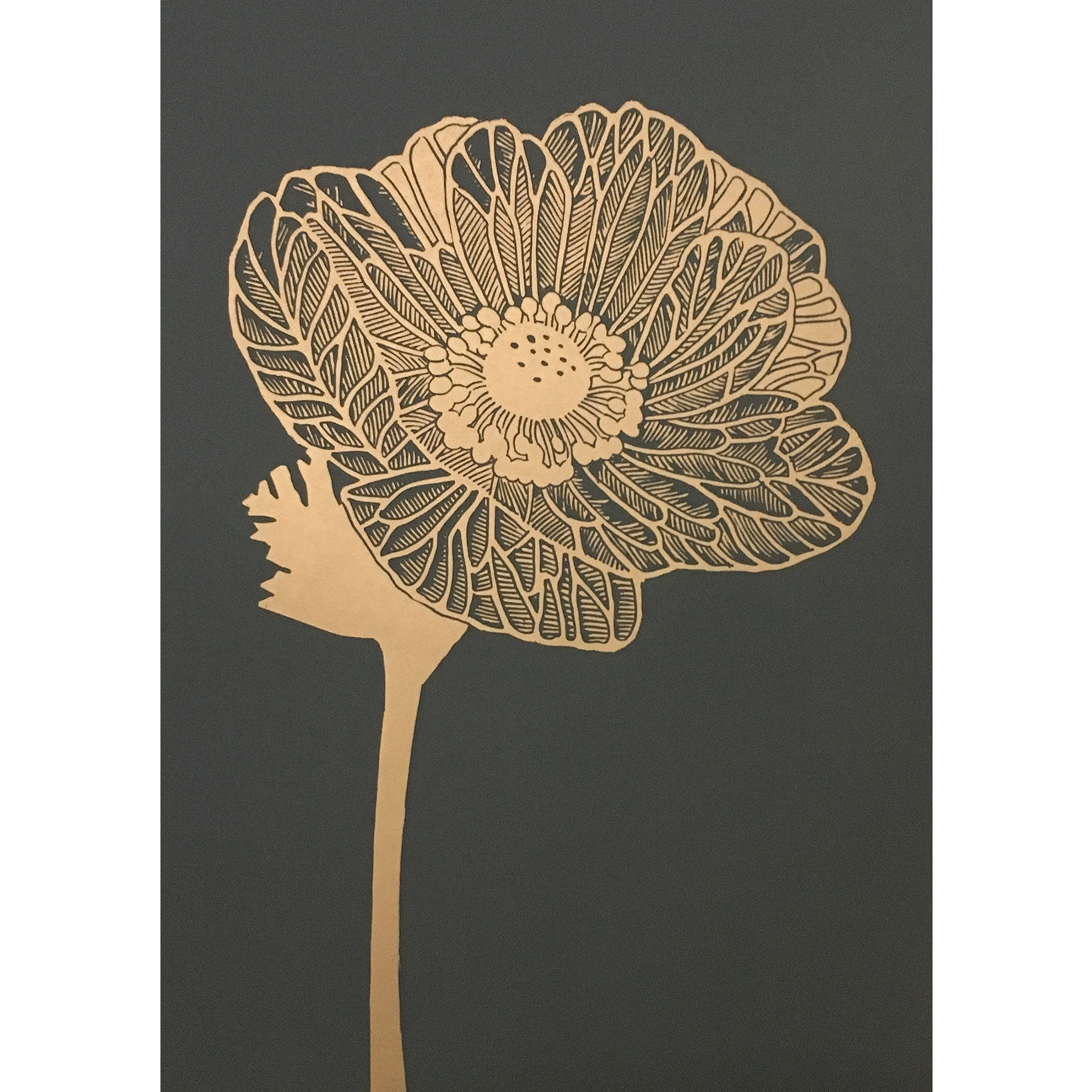 Monika Petersen Anemone Gold/Granite