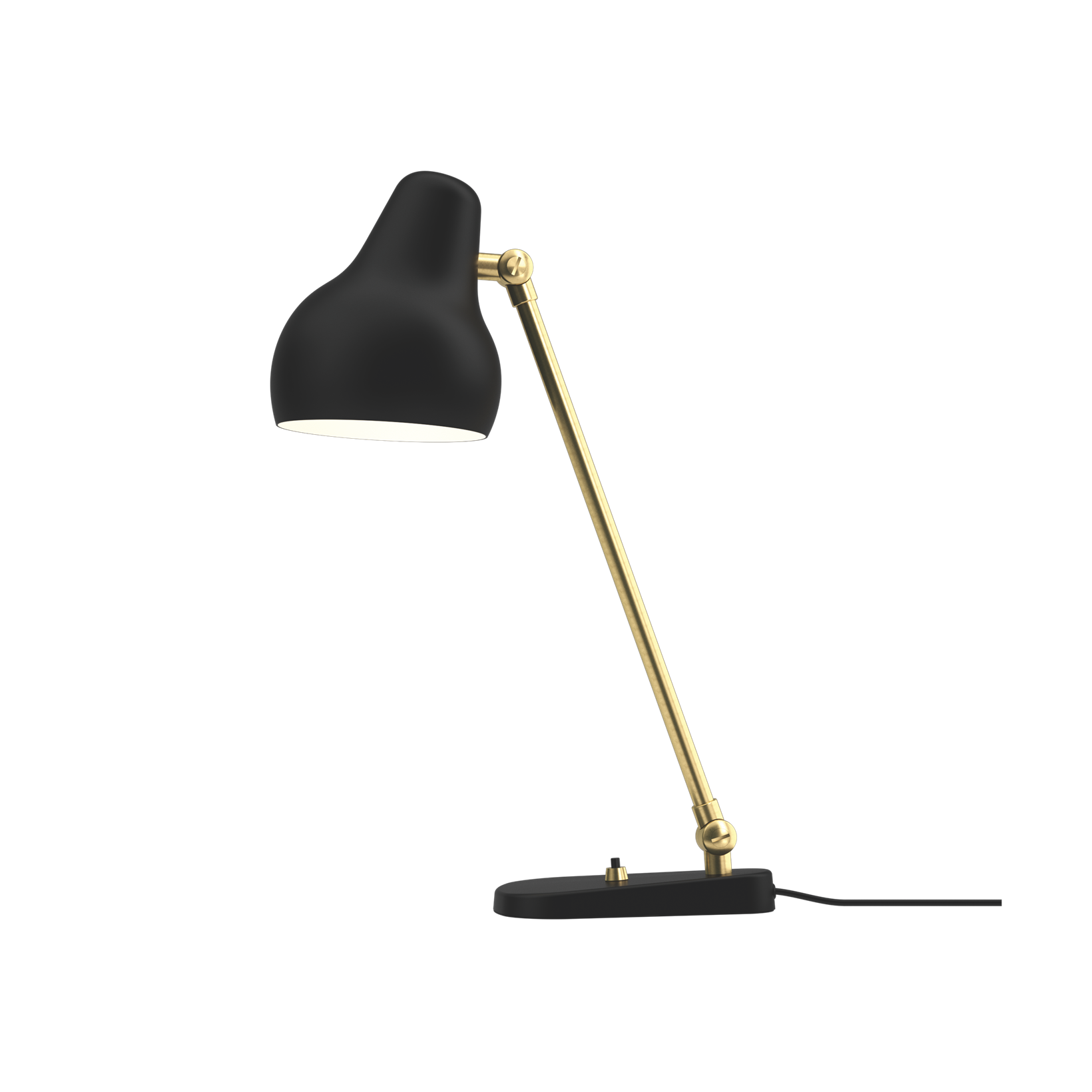 Louis Poulsen VL38 Bordlampe Sort Restlager