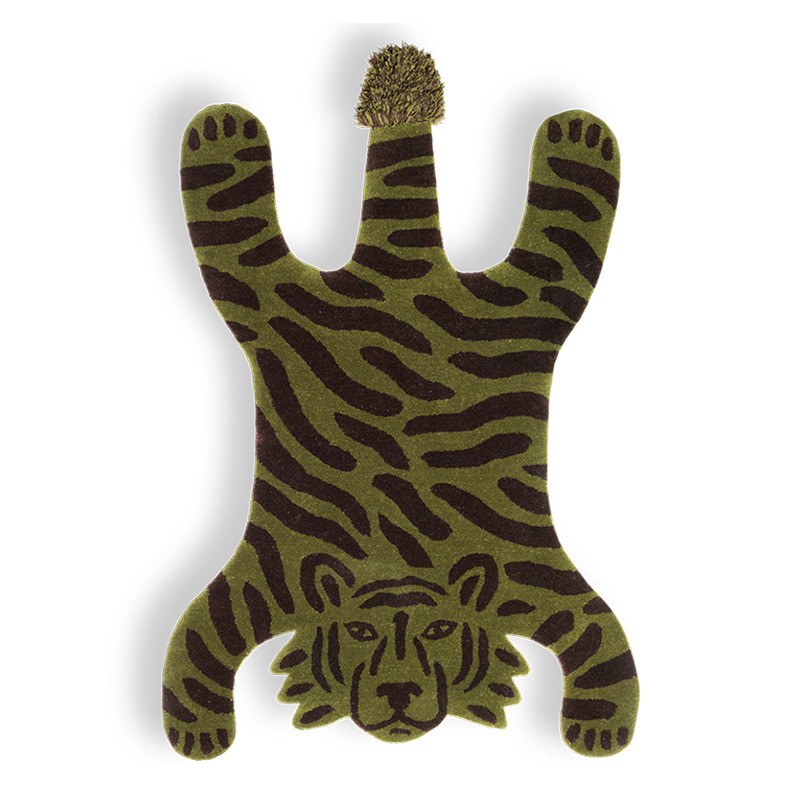 Ferm Living Safari Tufted Rug Tiger