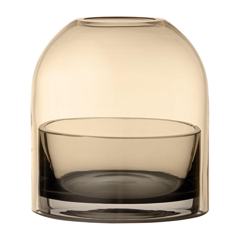 AYTM Tota Lantern Amber/Black Ø 9,3 cm