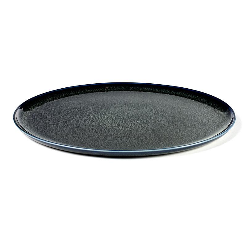 Serax Plate Large Dark Blue