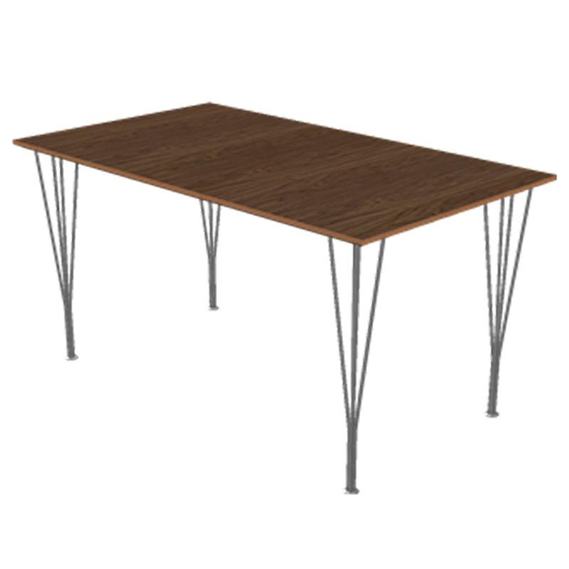 Fritz Hansen B638 Retankulær Spisebord