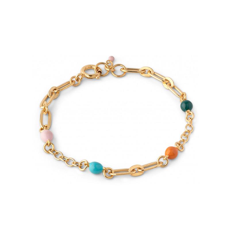 Enamel Copenhagen Vigga Bracelet Gold-Plated