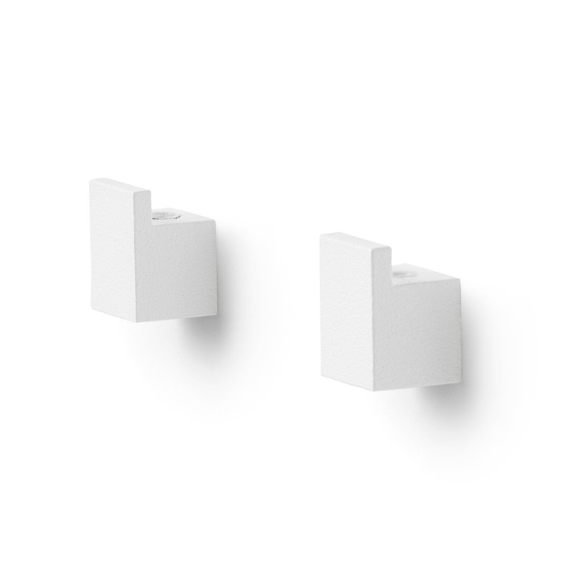 By Lassen Kubus Wall Bracket White