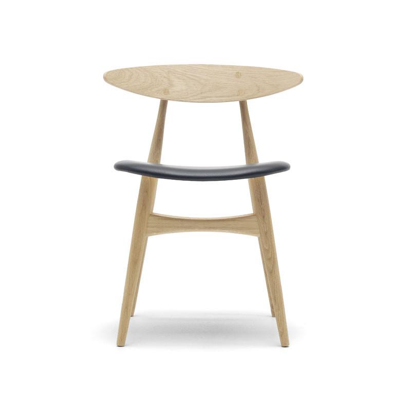 Carl Hansen CH33 Spisebordsstol Polstret