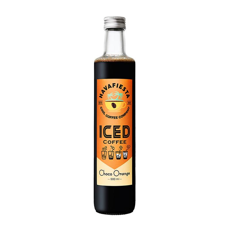 Havafiesta Iced Coffee Choko Orange