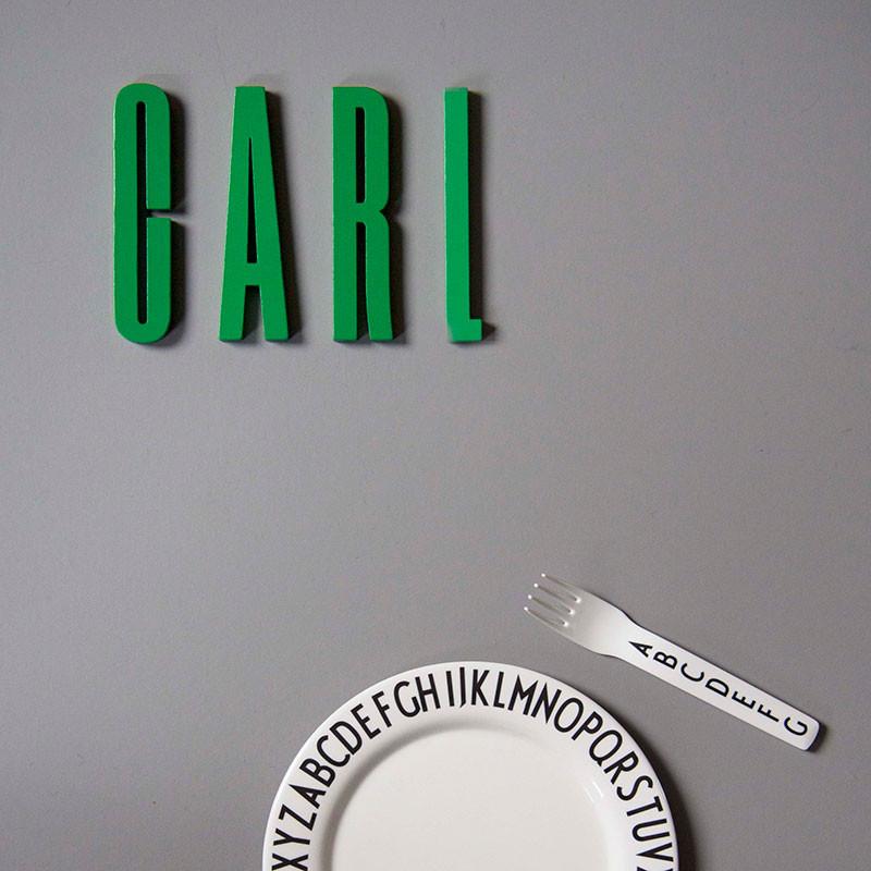 Design Letters Bogstaver Grøn