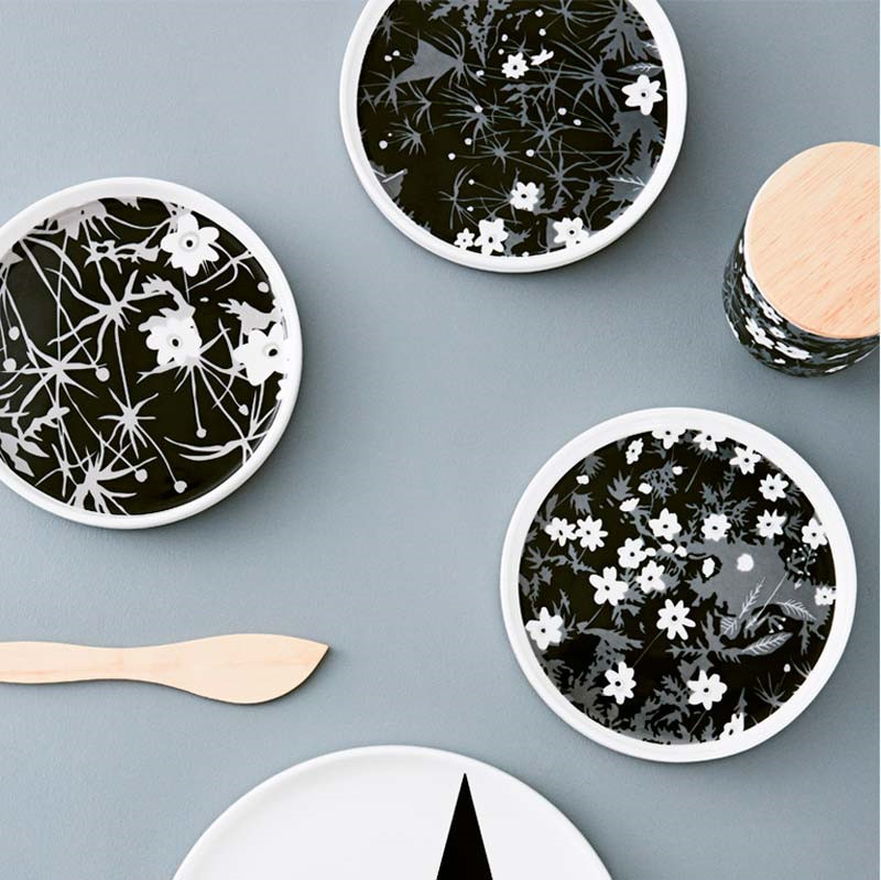 Design Letters AJ Vintage Porcelain Snack Plate