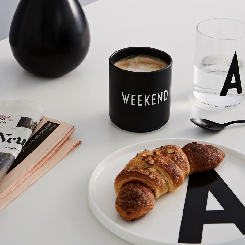 Design Letters Favourite Cup Weekend
