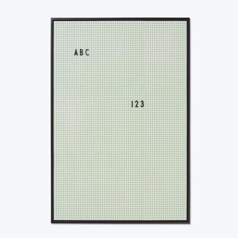 Design Letters Message Board A2 Grøn