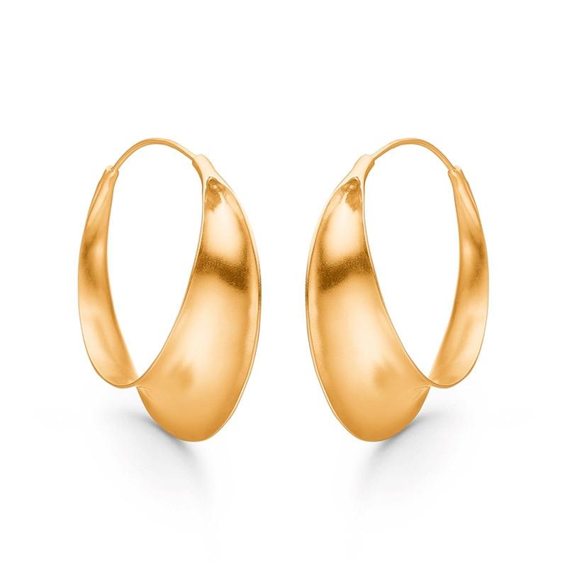 Enamel Copenhagen Magnificent Earrings Gold-Plated