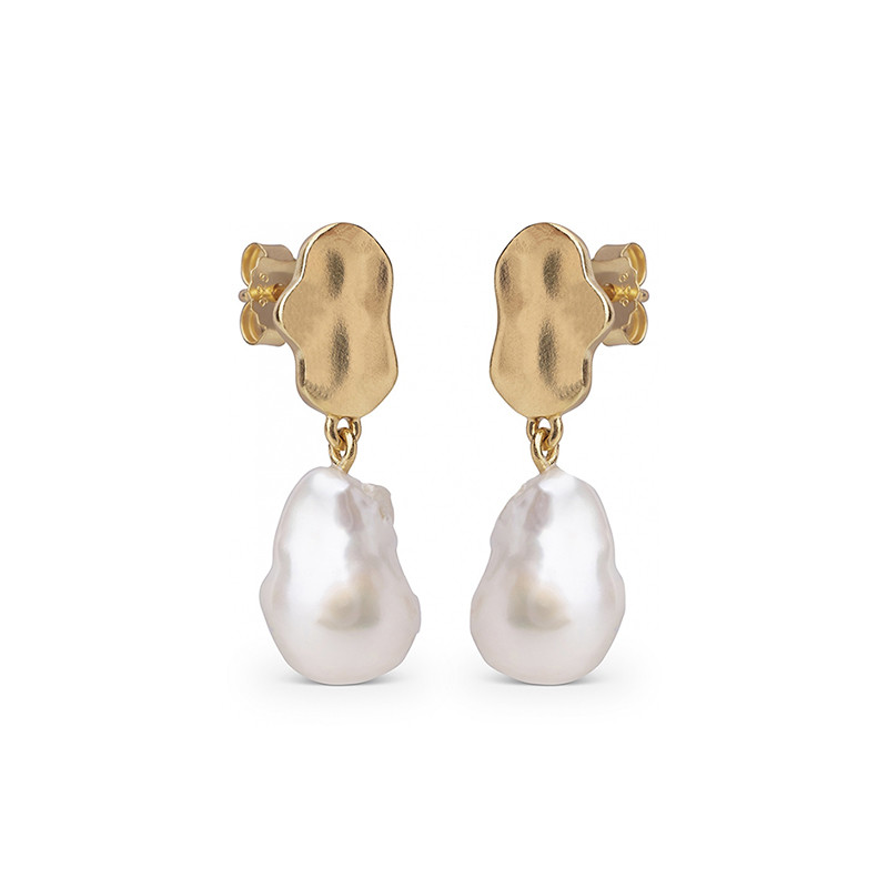 Enamel Copenhagen Alua Earrings Gold-Plated