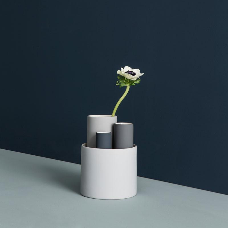Ferm Living Collect Vasesæt Grå