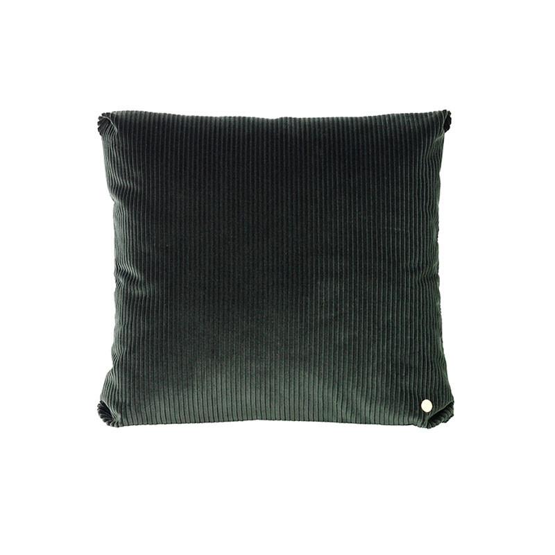Ferm Living Corduroy Cushion Green