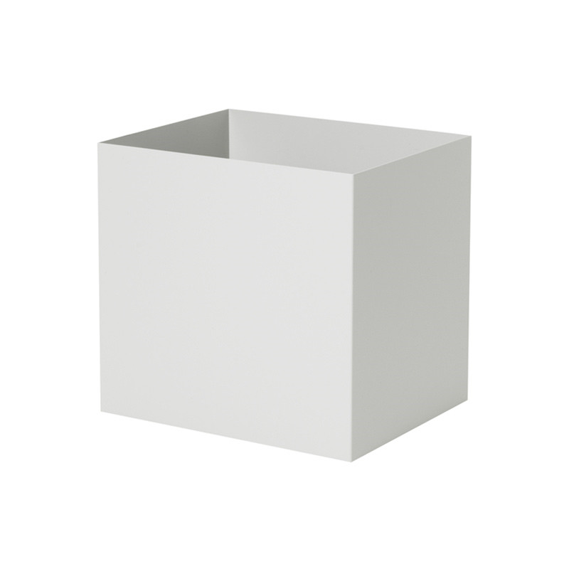 Ferm Living Plant Box Pot Light Grey