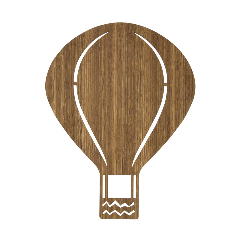Ferm Living Air Balloon Lamp Røget Eg