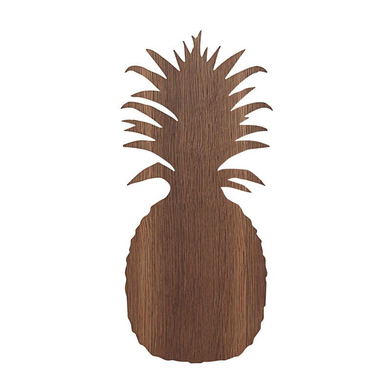 Ferm Living Pineapple Lamp Røget Eg