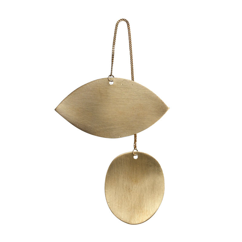 Ferm Living Twin Eye Brass Ornament