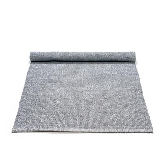Rug Solid Grey Plasttæppe