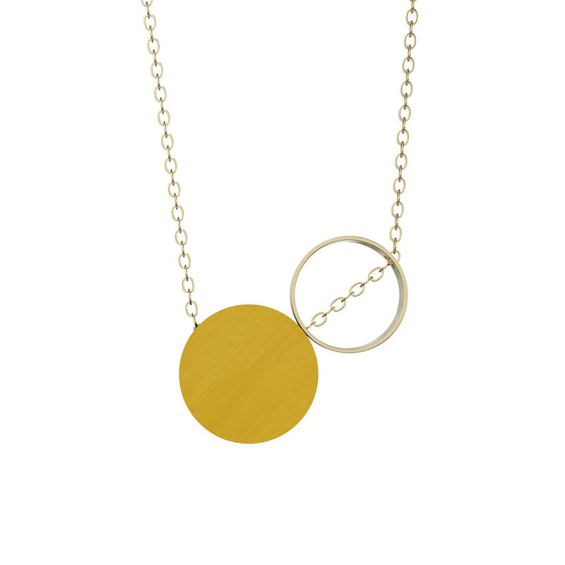 Grundled Komparativ Necklace Mustard