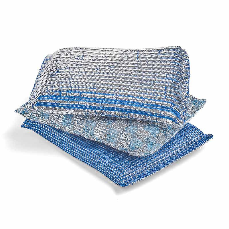 HAY Glitter Sponge Set of 3 Blue
