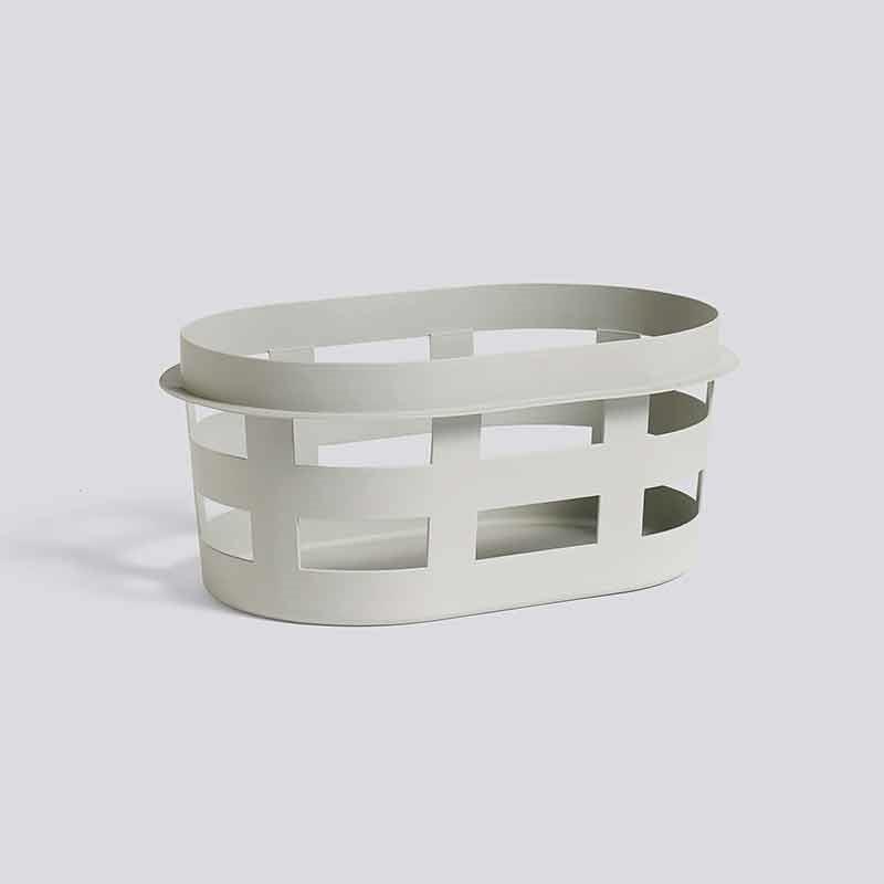 HAY Laundry Basket S Light Grey