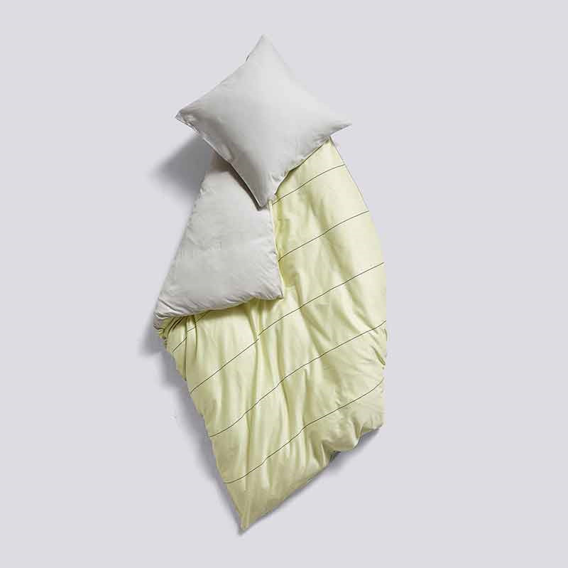 HAY Rest Bedlinen Soft Yellow Stripe