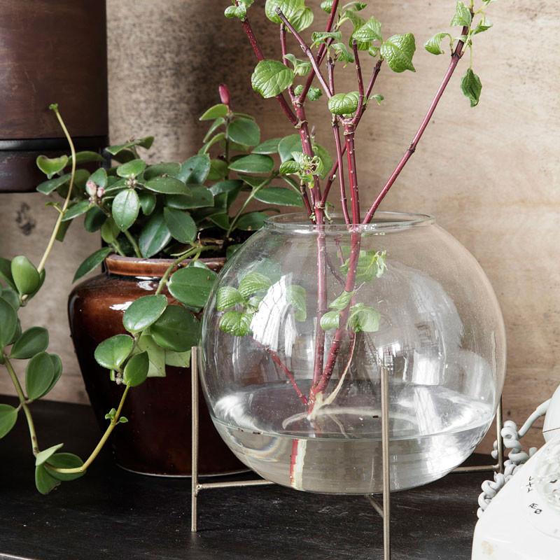 House Doctor Ada Vase med stand 20 x 16 cm