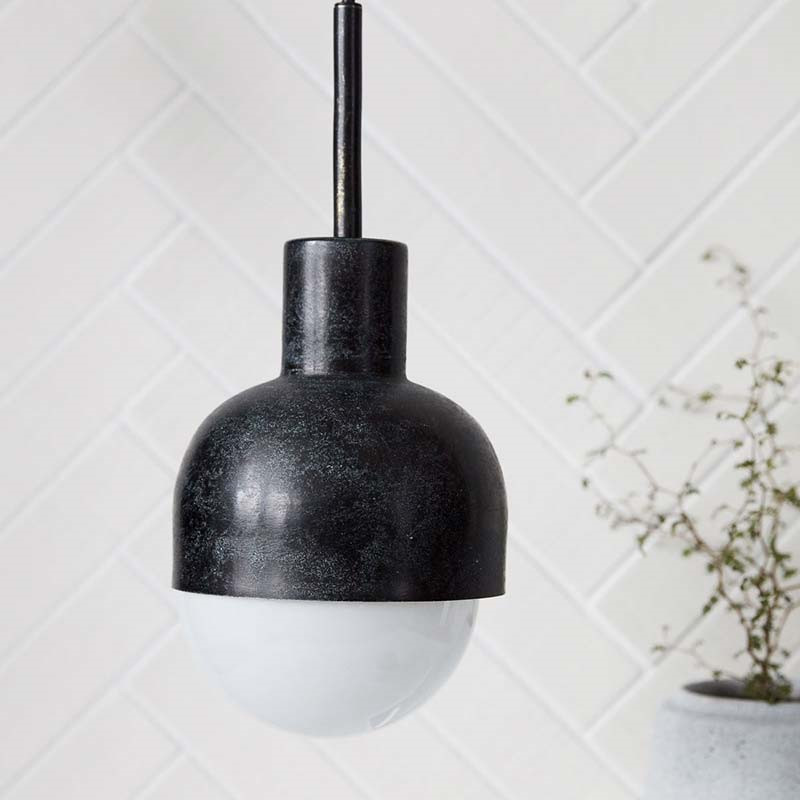 House Doctor Glow Lampe Oxideret