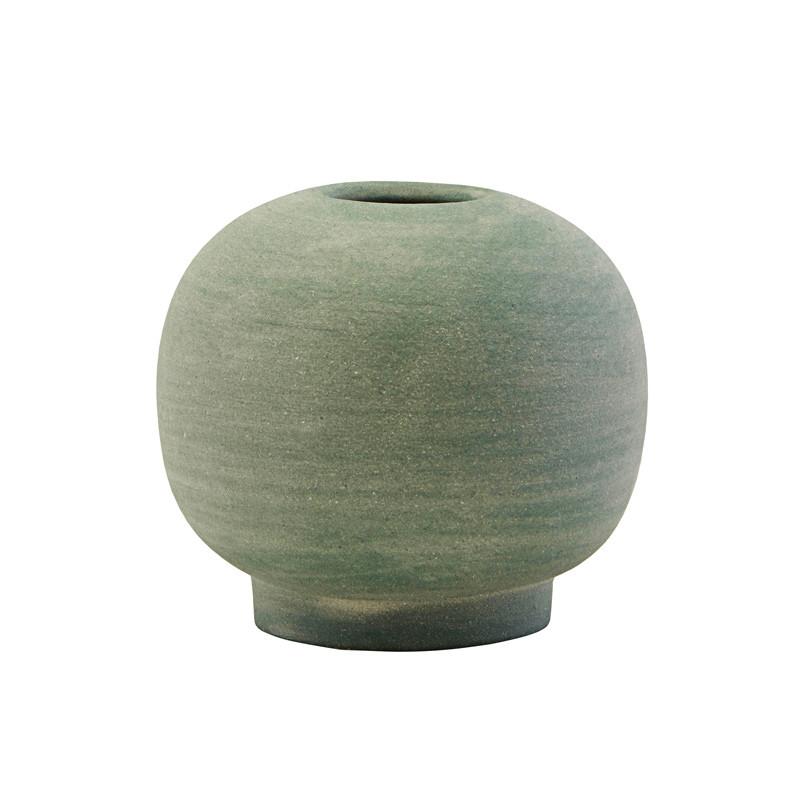 House Doctor Mini Bobbles Vase Dusty Green